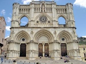 CUENCA. Catedral de Cuenca (1ª construcción cristiana tras la ocupación)