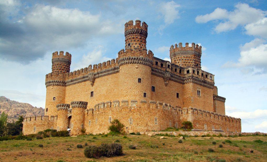 Los castillos m s bonitos de espa a tourismaniac - Casa en manzanares el real ...