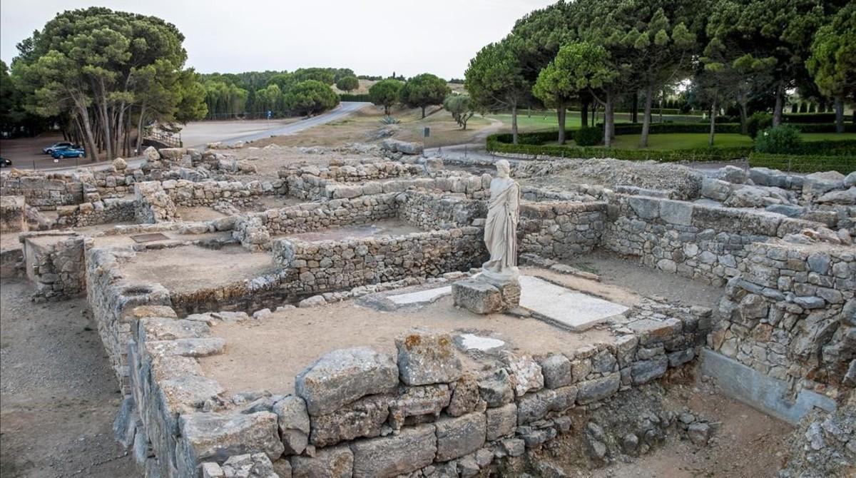 Girona  Costa Brava  Alt Emporda  Ruinas de Empuries  FOTO FERRAN SENDRA