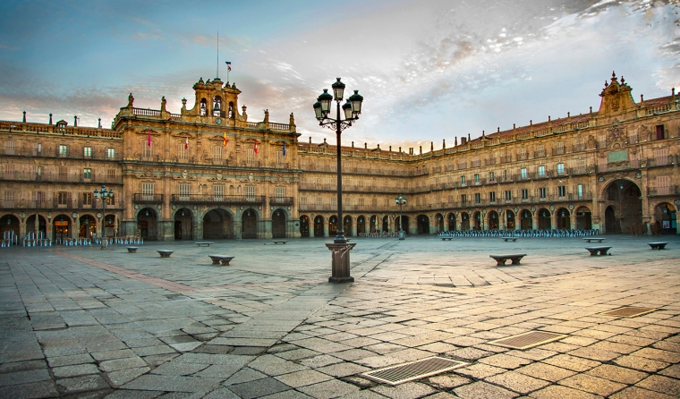 1. PLAZA MAYOR DE SALAMANCA