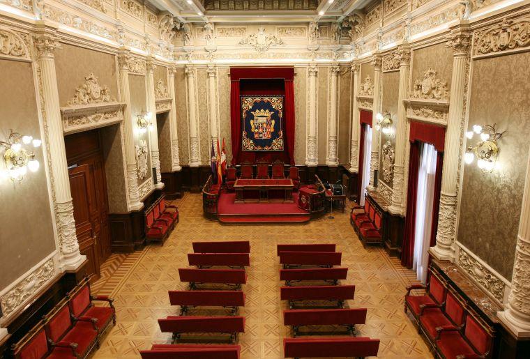 11. PALACIO DE LA DIPUTACIÓN PROVINCIAL (PALENCIA) INTERIOR