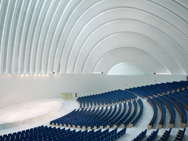 Palacio de Exposiciones y Congresos, Architect Santiago Calatrava