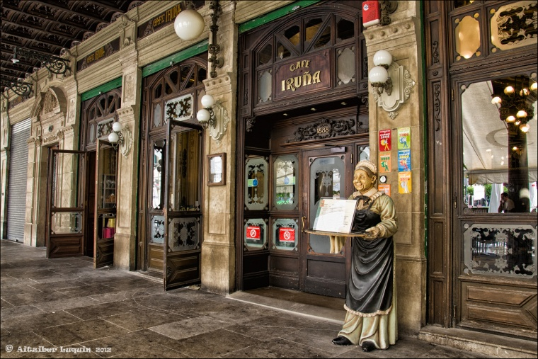 CAFÉ IRUÑA (PAMPLONA) 1888