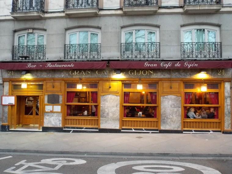 GRAN CAFÉ DE GIJÓN (MADRID) 1888